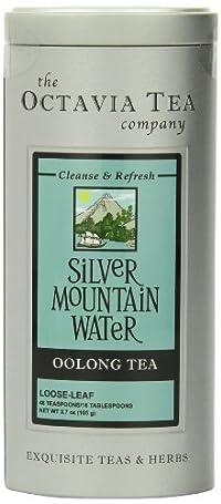 Octavia Tea Silver Mountain Water (Oolong Tea) Loose Tea, 2.78-Ounce Tin