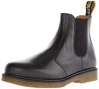 Dr. Martens 2976, Boots mixte adulte - Noir (Black Smooth), 36 EU (3 UK)
