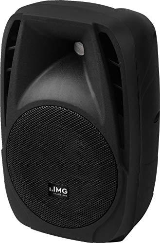 IMG STAGELINE PAK-8DMP Aktive DJ und Power-Lautsprecherbox, 120 WMAX schwarz
