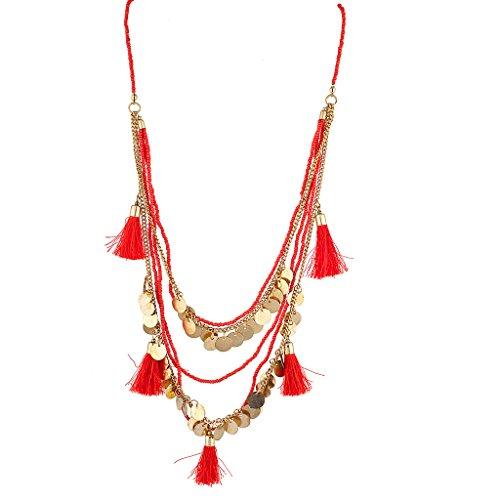 lux-accesorios-rojo-fringe-gypsy-discos-cuentas-declaracion-collar