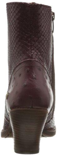 Neosens Verduzzo 293, Boots femme Rouge (Avestruz Mora)