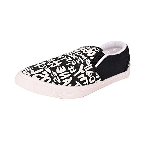 Mr.Polo Casual Canvas Shoes For Men/Boys (White)