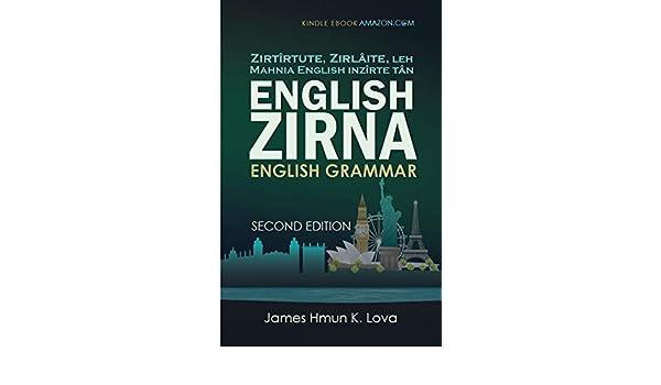 English Zirna: English Grammar in Mizo eBook: James Lova