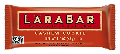 Larabar Snack Bar, Cashew Cookie, 16 ct, 1.7 oz by LÃ