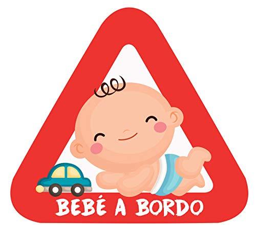 Haberdashery Online Pegatina Adhesiva Bebé Bordo