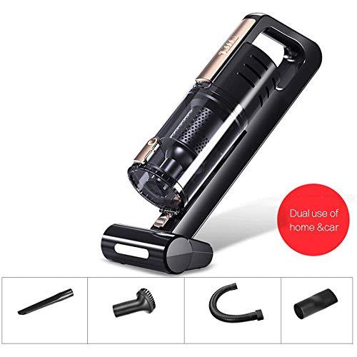 Schnurloser Handstaubsauger, tragbarer drahtloser 120-W-Auto-USB-Ladereiniger mit Nasser und trockener Hand für Ihr Auto, Zuhause, Büro, Tierhaare -