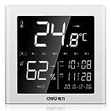 AFGD Digitales Thermometerelektronisches Thermometer, Haushaltswecker Feuchtemessgerät