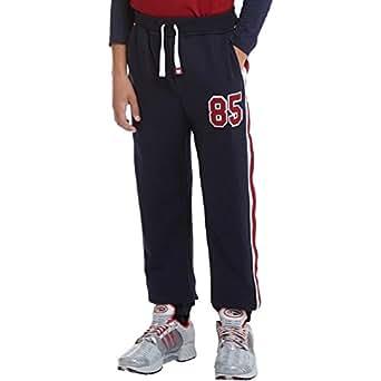 kangaroo poo pantalon de jogging gar on bleu marine 11 12 ann es 146cm hauteur taille 11. Black Bedroom Furniture Sets. Home Design Ideas