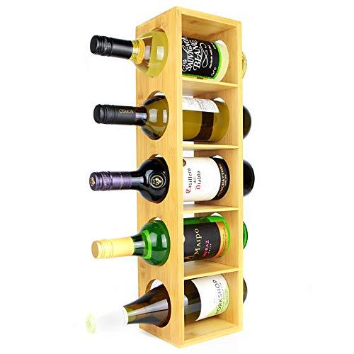 Este estante para vinos de bambú de Maison & White es la solución de almacenamiento perfecta para su selección de vinos, el diseño delgado puede caber en espacios reducidos y sin uso alrededor de su cocina o bar. El estante para vinos puede monta...