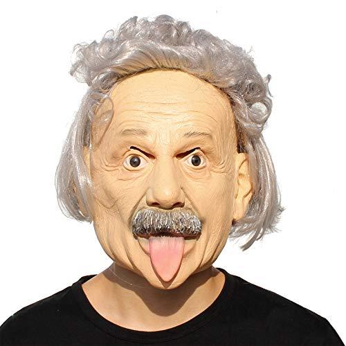 PartyHop Albert Einstein Maske Halloween Realistische Berühmte Menschen Celebrity Human Mask