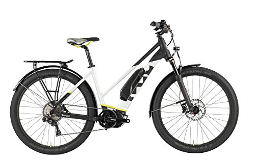 Husqvarna Gran Tourer GT4 Damen Pedelec E-Bike Trekking Fahrrad grau/weiß 2019: Größe: 45cm