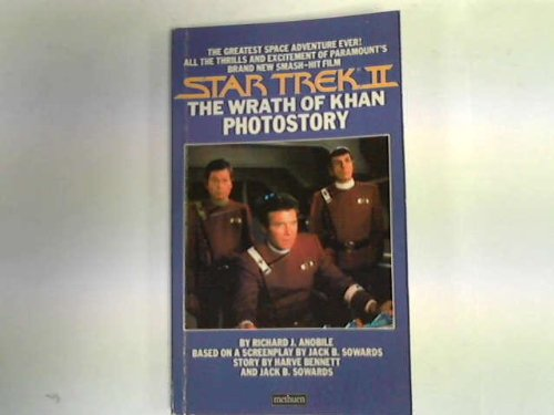Cover of Star trek II: The wrath of Khan photostory (Star Trek)