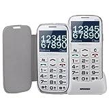 Brondi - Telefono cellulare-Amico Elegant, colore Bianco