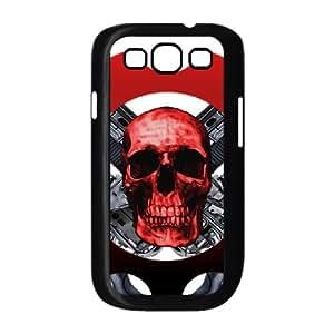Gears Of War Schädel 015 Samsung-Galaxie S3 9300 Etui Hülle Cover Black Handy-Fall-Abdeckung hülle EOKXLLNCD03427