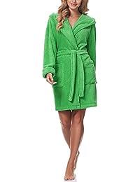 d388769eaa06aa Suchergebnis auf Amazon.de für: Grüner Bademantel - Damen: Bekleidung