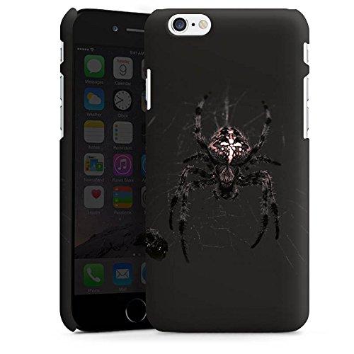 Apple iPhone X Silikon Hülle Case Schutzhülle Araneus Spinne Spider Premium Case matt