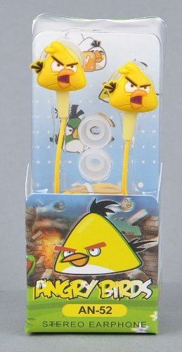 Angry Birds In-Ear Kopfhörer Nintendo Sony PSP Iphone Ipad in gelb Angry Birds Psp