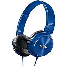 Philips SHL3060BL/00 - Auriculares de diadema cerrados tipo DJ (1000 mW, 1.2m), color azul