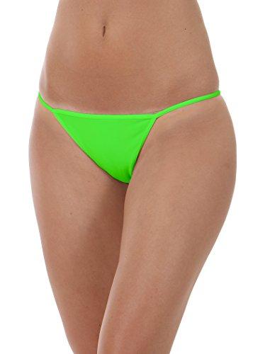 FOCENZA - TANGA intimo donna 120 Verde fluo