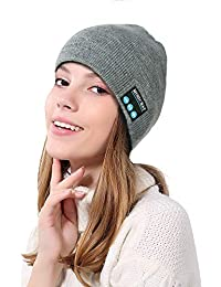 MERICAL Wireless Bluetooth Berretto Caldo Vivavoce Musica cap Cuffia Natale b20a64122965
