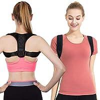 Back Support for Men Women, Therapy Posture Corrector Under Clothes for Improve Bad Posture, Adjustable Spinal Braces Belts for Back Shoulder Neck Pain Relief (XL)
