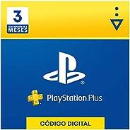 Sony, PlayStation Plus - Suscripción 3 Meses | PS5/PS4/PS3 | Código de descarga PSN - Cuenta española
