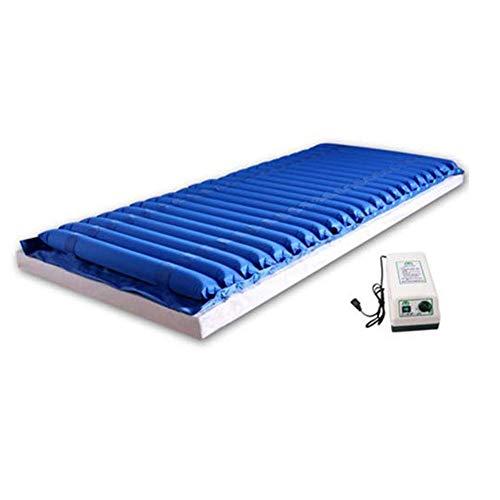 XJZHAN Anti-Dekubitus-Matratze Atmungsaktives Design Aufblasbares Einzelwellen-Kissen Wasserdicht und schmutzabweisend Medizinische Luftbetten für zu Hause - Abwechselnd Druck-luft-matratze