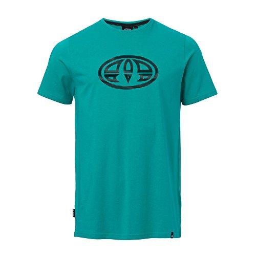 Animal T-shirts - Animal Lister T-Shirt - Wild Ginger Red Marl pool green