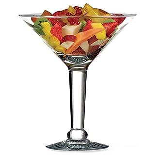 Crisa Grande Martini Glass 52.8oz / 1.5ltr | Giant Martini Glass, Large Handmade Martini Glass, Sharing Cocktail Glass, Punch Bowl Martini Glass