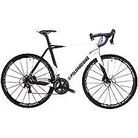 POLOANDBIKE Savage Complete Bike Ultegra - Bicicleta de Carretera de 22 velocidades, Cuadro de Carbono