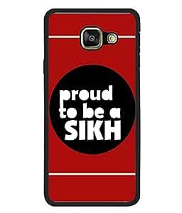 PrintVisa Proud Sikh High Gloss Designer Back Case Cover for Samsung Galaxy A7 (6) 2016 :: Samsung Galaxy A7 2016 Duos :: Samsung Galaxy A7 2016 A710F A710M A710Fd A7100 A710Y :: Samsung Galaxy A7 A710 2016 Edition