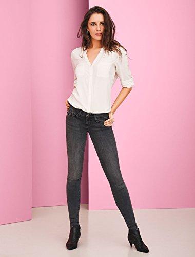 ONLY Damen onlCORAL SL DNM CRE169061 NOOS Skinny Jeans, Grau (Dark Grey Denim), W27/L30 (Herstellergröße: 27)