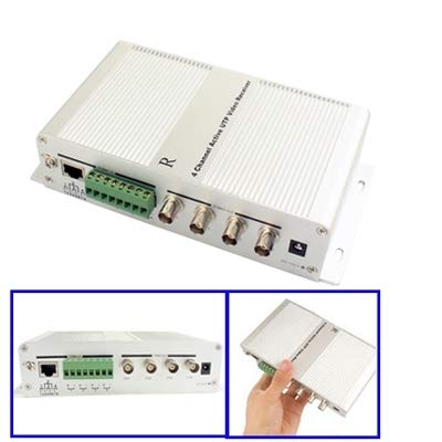 Security Accessory Sicherheitszubehör 4 - Kanal - aktive bnc - stecker - buchse utp Video - empfänger Aktive Utp Video