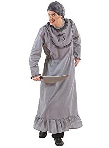 widmann-wdm5731g disfraz Adulto mujer, Gris, wdm5731g