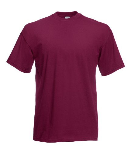 T-Shirt * Valueweight T * Fruit of the Loom burgund