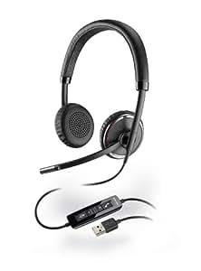 Plantronics Blackwire C520 Binaural USB Headset for PC (UC Standard Version)