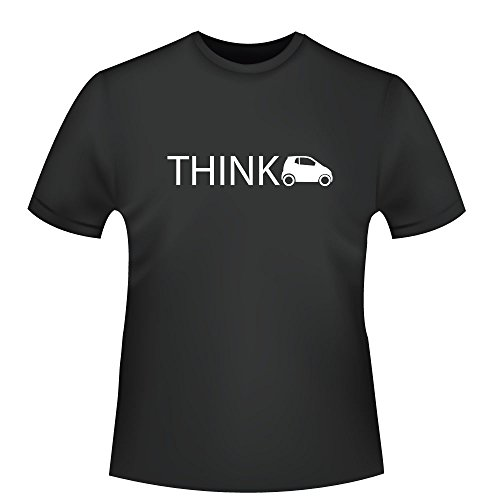 Think Smart, Herren T-Shirt - Fairtrade - ID105062 Schwarz