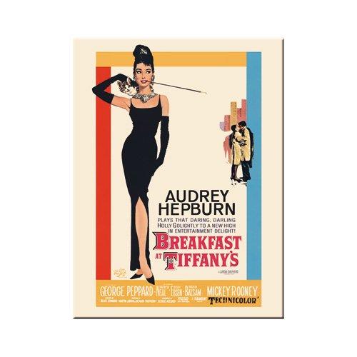 Nostalgic-Art 14180 Breakfast at Tiffany's Classic, Magnet 8x6 cm