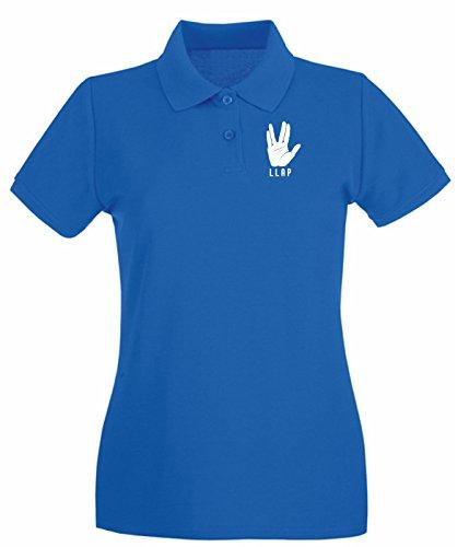 Cotton Island - Polo pour femme FUN0118 05 21 2013 LLAP T SHIRT det Bleu Royal