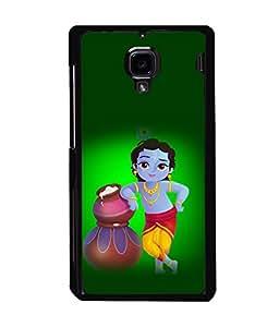 printtech Lord God Krishna Back Case Cover for Xiaomi Redmi 1S::Xiaomi Redmi (1st Gen)