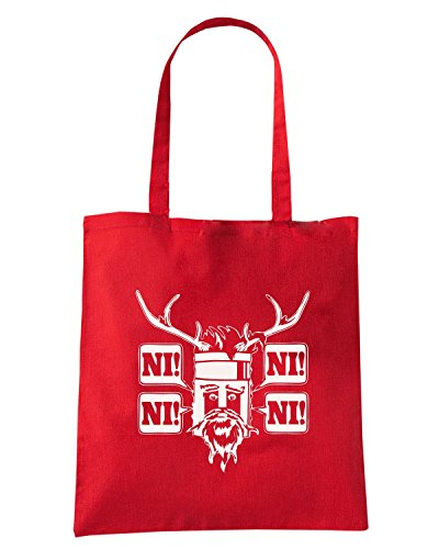 T-Shirtshock - Borsa Shopping FUN0301 12 29 2013 Knights Ni T SHIRT det Rosso