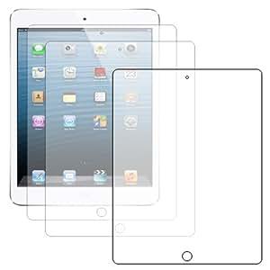 ebestStar - Pour Tablette Apple IPAD 4 / iPAD 3 / Nouvel iPAD / iPAD 2 - LOT DE 3 FILM PROTECTEUR ANTI-RAYURE / protection d'écran tactile, retina, LCD, cristal, transparent + chiffonnette (microfibre / chiffon)