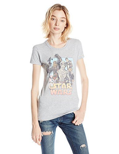 T-shirt Star Wars The Force Awakens Comic Leading Lady maglia donna ufficiale (XL)