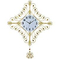 Wanduhr Mode Quarzuhr Moderne Uhr Leuchtend (Farbe : Gold, größe : No luminous) preisvergleich bei billige-tabletten.eu