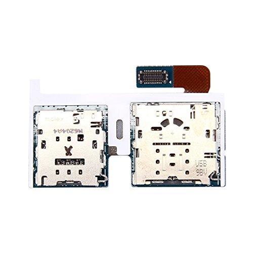 DELANSHI Handy Ersatzteile IPartsBuy Compatible with Samsung Galaxy Tab S2 9.7 4G / T819 Micro SD Karte & SIM Kartenleser Flexkabel