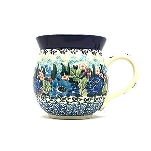 Polish Pottery Mug – 15 oz. Bubble – Unikat Signature U4572
