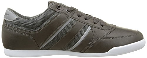 Kappa Lotif, Baskets Basses homme Gris (Dk Grey/Red)