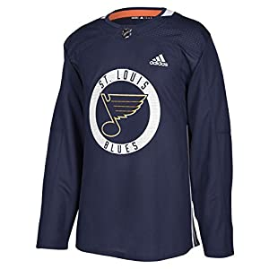 adidas St. Louis Blues NHL Men's Climalite Authentic Practice Jersey