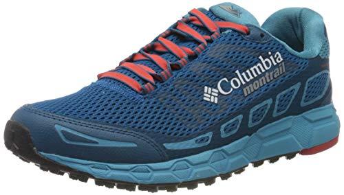 Columbia Bajada III, Zapatillas de Running para Asfalto para Hombre, Azul Jewel, Super So 498, 40...