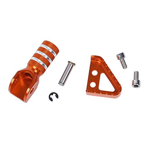 Bremspedale + Tipp für KTM Motorrad Cool Ring Rear Brake Pedal Step & Gear Shifter Lever Tip -